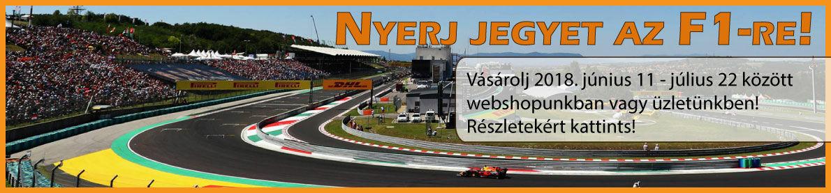 Nyerj jegyet az F1-re!