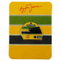 Senna kitűző - Senna Helmet
