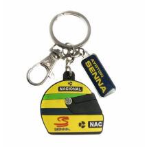 Senna kulcstartó - Senna Helmet