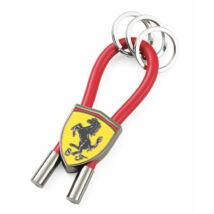 Ferrari kulcstartó - Scudetto Rubber Strap piros