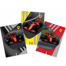 Ferrari füzet - F1 Car kockás