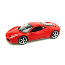 Ferrari modellautó - 458 Italia piros