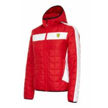 Ferrari női kabát - Scudetto Winter Duocolor piros