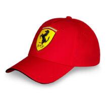 Ferrari sapka - Scudetto Carbon piros
