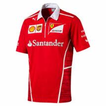 Ferrari galléros póló - Team Line