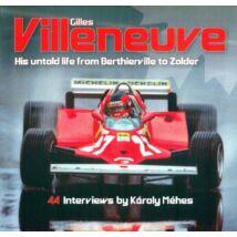 Ferrari könyv - Gilles Villeneuve