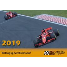 Ferrari falinaptár 2019