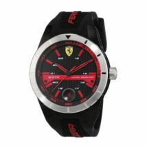 Ferrari óra - Red Rev T fekete-piros