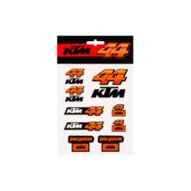 KTM matrica szett - 44