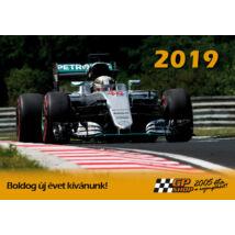 Lewis Hamilton falinaptár 2019