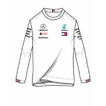 Mercedes AMG Petronas hosszú ujjú póló - Team White