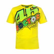 Rossi póló - Double Logo Large sárga