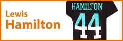 Lewis Hamilton termékek