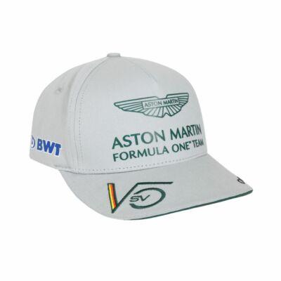 Aston Martin sapka - Sebastian Vettel szürke