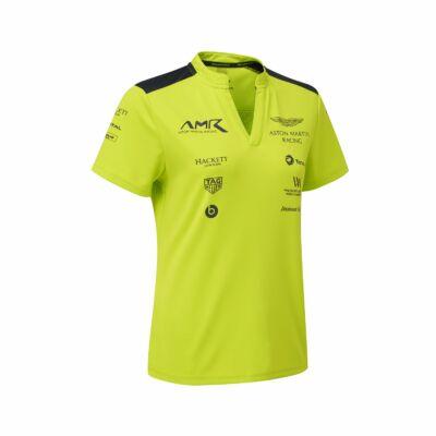 Aston Martin női póló - Team Line