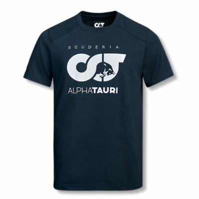 AlphaTauri póló - Team Logo kék