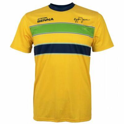 Senna póló - Helmet Colours