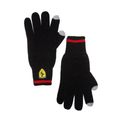 Ferrari kesztyű - Scudetto fekete
