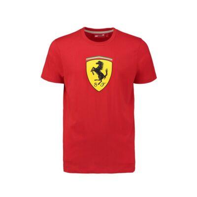 Ferrari gyerek póló - Large Scudetto piros