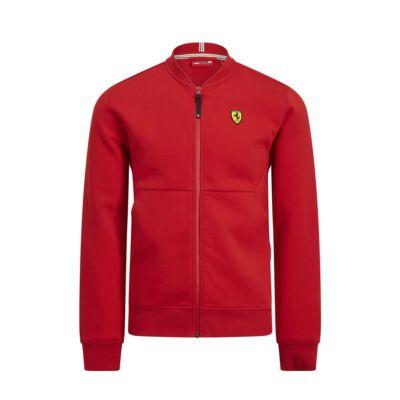 Ferrari pulóver - Classic Full Zip piros