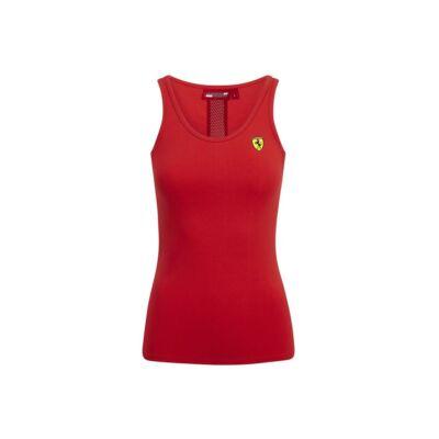 Ferrari női trikó - Scudetto piros