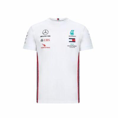 Mercedes AMG Petronas póló - Team Line White