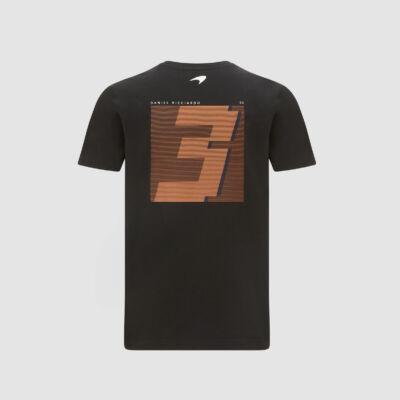McLaren póló - No. 3 Back fekete