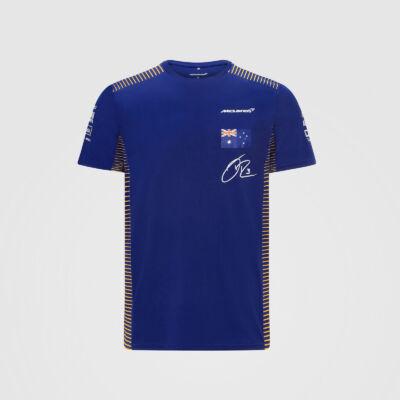 McLaren póló - Team/Ricciardo Blue