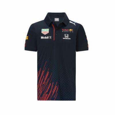 Red Bull Racing galléros póló - Team