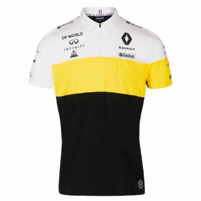 Renault F1 galléros póló - Team Black
