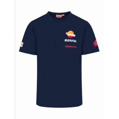 Repsol Honda póló - Team Basic kék