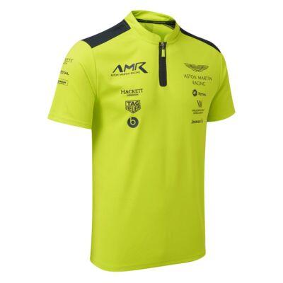 Aston Martin Racing galléros póló - Team Green