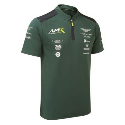 Aston Martin Racing galléros póló - Team