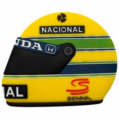 Senna hűtőmágnes - Helmet