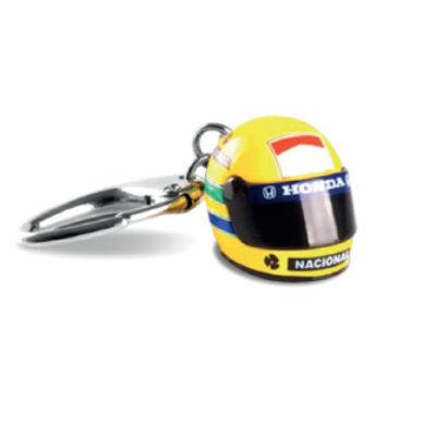 Senna kulcstartó - Helmet 3D