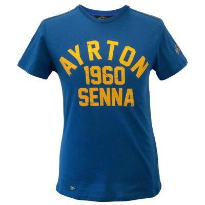 Senna póló - 1960 világoskék