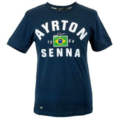 Senna póló - 1960 kék