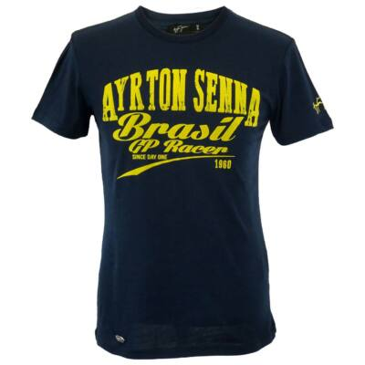 Senna póló - GP Racer kék