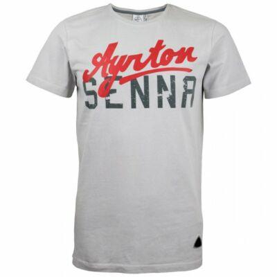 Senna póló - Vintage világosszürke