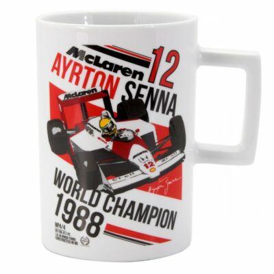 Senna bögre - McLaren fehér
