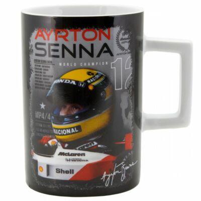Senna bögre - McLaren fekete