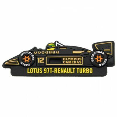 Senna hűtőmágnes - Lotus
