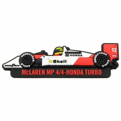 Senna hűtőmágnes - McLaren