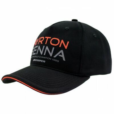 Senna sapka - McLaren fekete