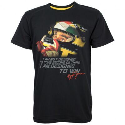 Senna póló - Designed to Win