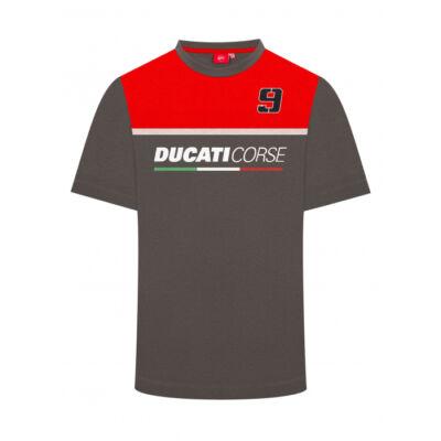 Ducati póló - 9 szürke