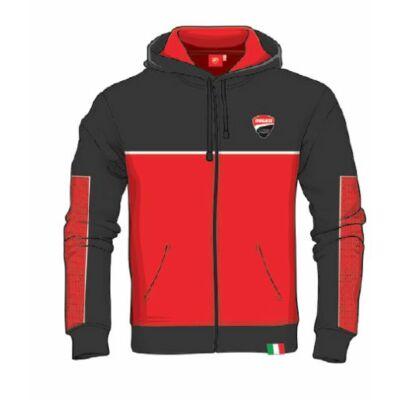 Ducati pulóver - Small Logo Stripes