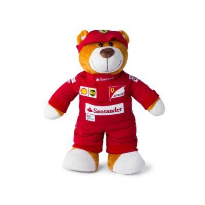 Ferrari plüss mackó - Driver Bear 26 cm