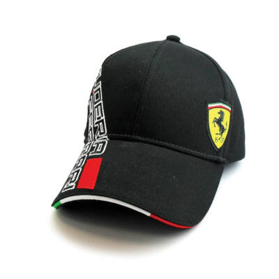 Ferrari sapka - Double Logo fekete