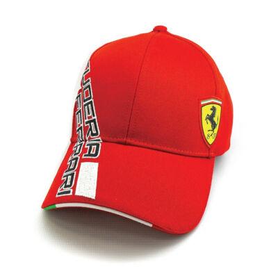 Ferrari sapka - Double Logo piros